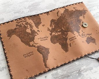 World map leather tobacco pouch pipe pouch wallet case pyrography world map leather tobacco pouch pipe pouch wallet case pyrography leather portatabacco gumiabroncs Gallery