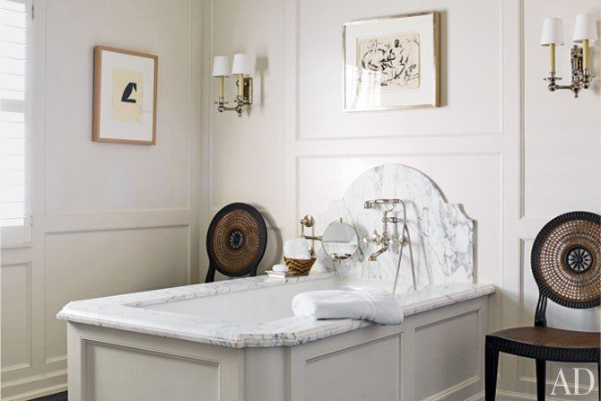 Architectural Digest wants to see your amazing bathroom makeovers! Click for details on how to submit your renovation for the chance to be included in our exclusive online feature, and then repin and spread the word!