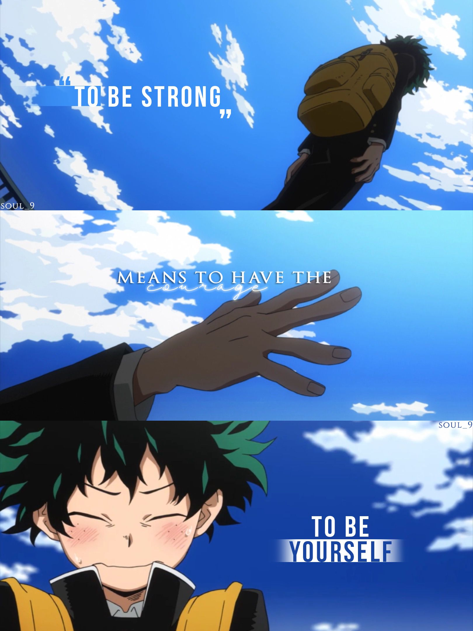 Best Anime Quotes About Never Giving Up