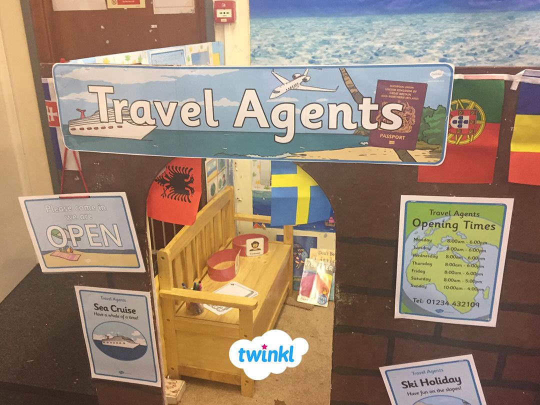 Twinkl Travel Agents Display What A Fantastic Display And