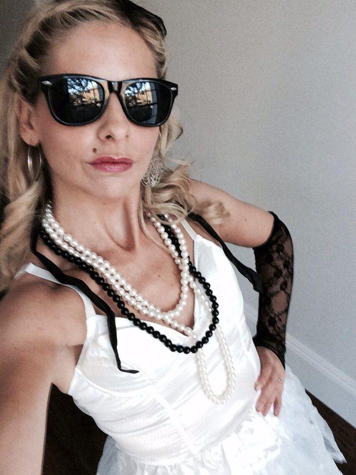 80s Madonna 80s party Pinterest Madonna costume, Sarah - madonna halloween costume ideas