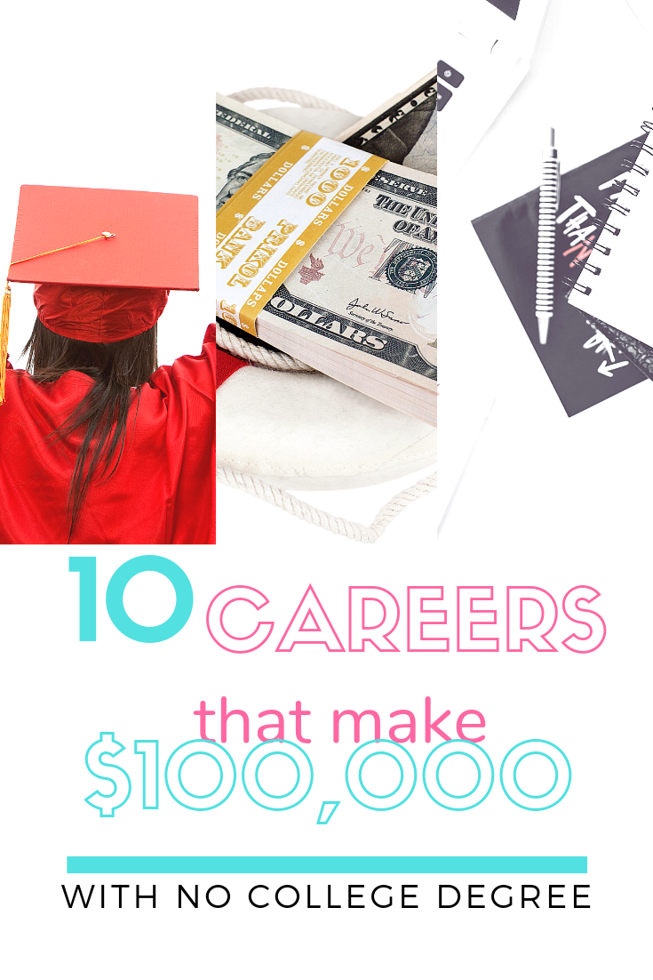 10 Careers That Make 100 000 Without A Degree With Images
