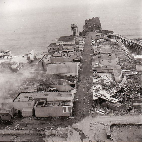Santa Monica, Pacific Ocean Park, Fire, 1970 (With Images