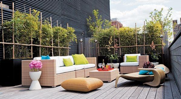Como Decorar Una Terraza Con Encanto Decoracion De Exteriores Sala De Exterior Diseño De Terraza