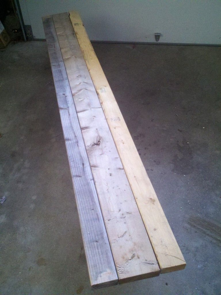 How To Build A Backyard Rink Bench for $20 (or less ...