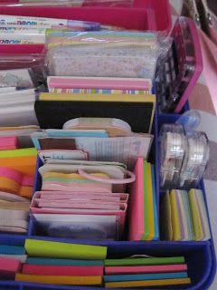 Hi everyone! I have another storage post for you today.   As the title suggests, I'd like to show you how I store my stationery supplies.  ...