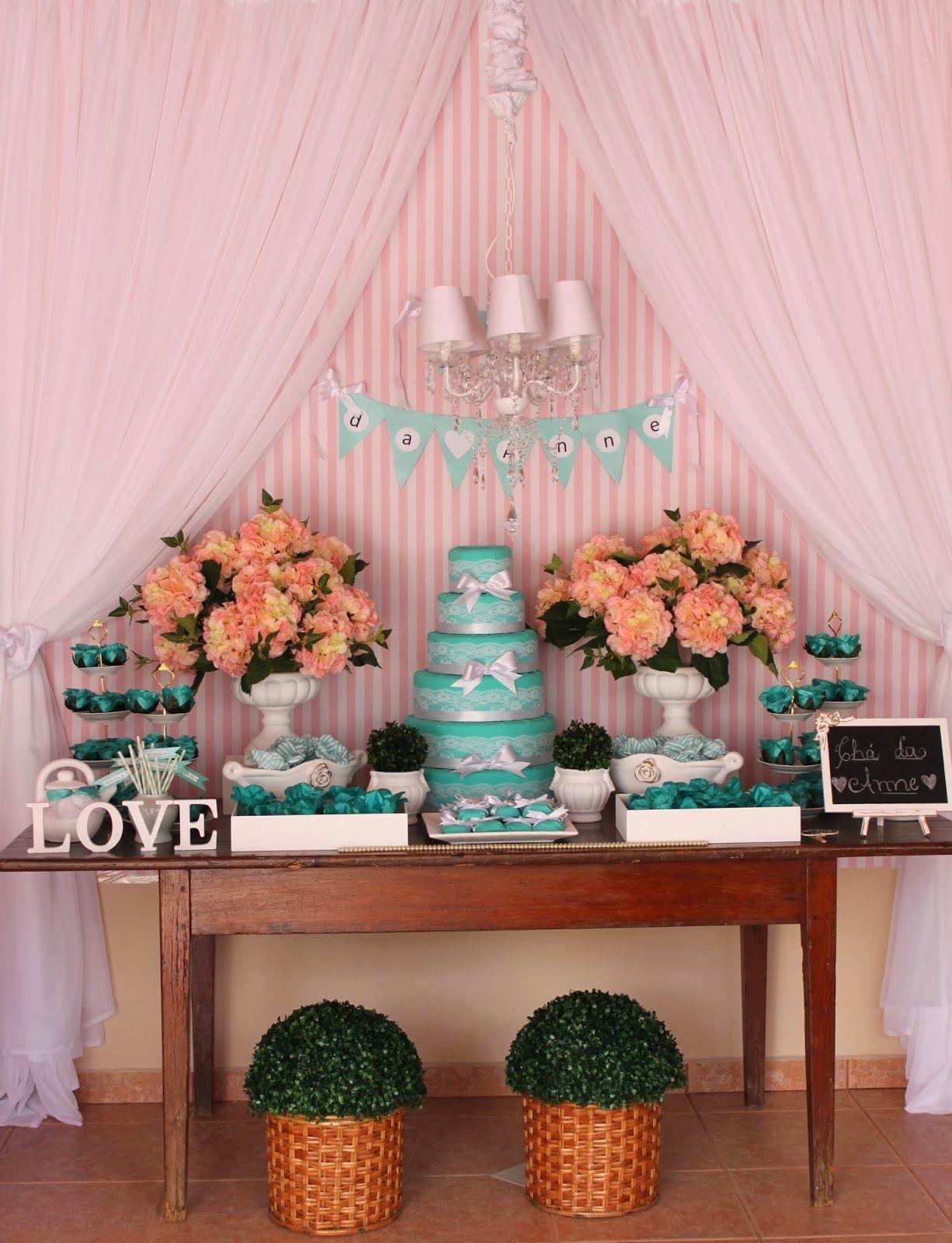 Chá de lingerie Tiffany   Co ♥ Anne   cha´s da tarde   Bridal ... dac34471d6