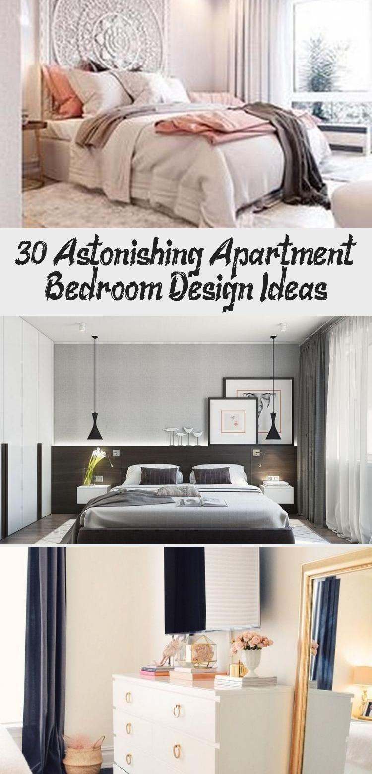 30 Astonishing Apartment Bedroom Design Ideas Apartment Bedroom Design Gray Apartment Decor Design Your Bedroom Bedroom decor ideas apartment
