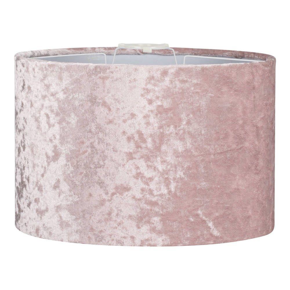 Blush Pink Velvet Shade Metal