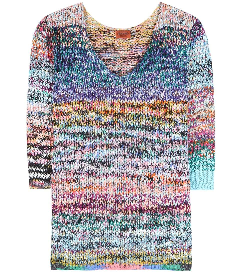 051525b398a408 MISSONI Cashmere and wool-blend sweater.  missoni  cloth  sweater ...