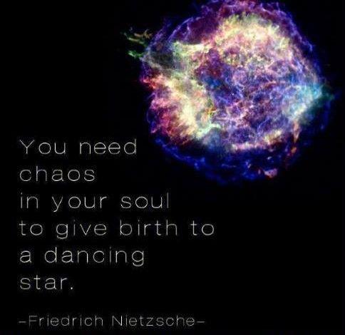 Necesitas caos en tu alma