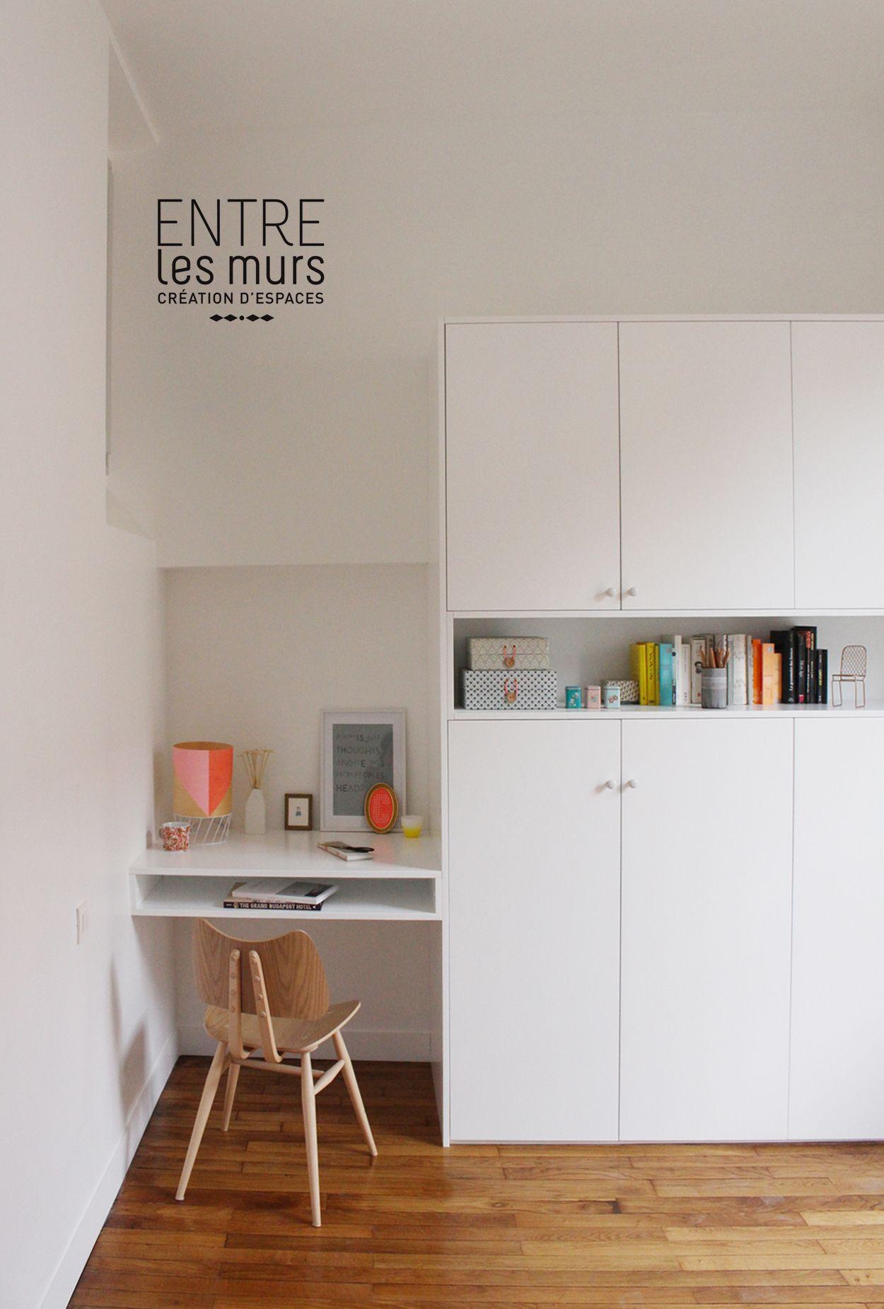 Agencement Sur Mesure Bureau Et Rangement D Un Petit Espace Chambre Petit Espace Mobilier De Salon Bureau