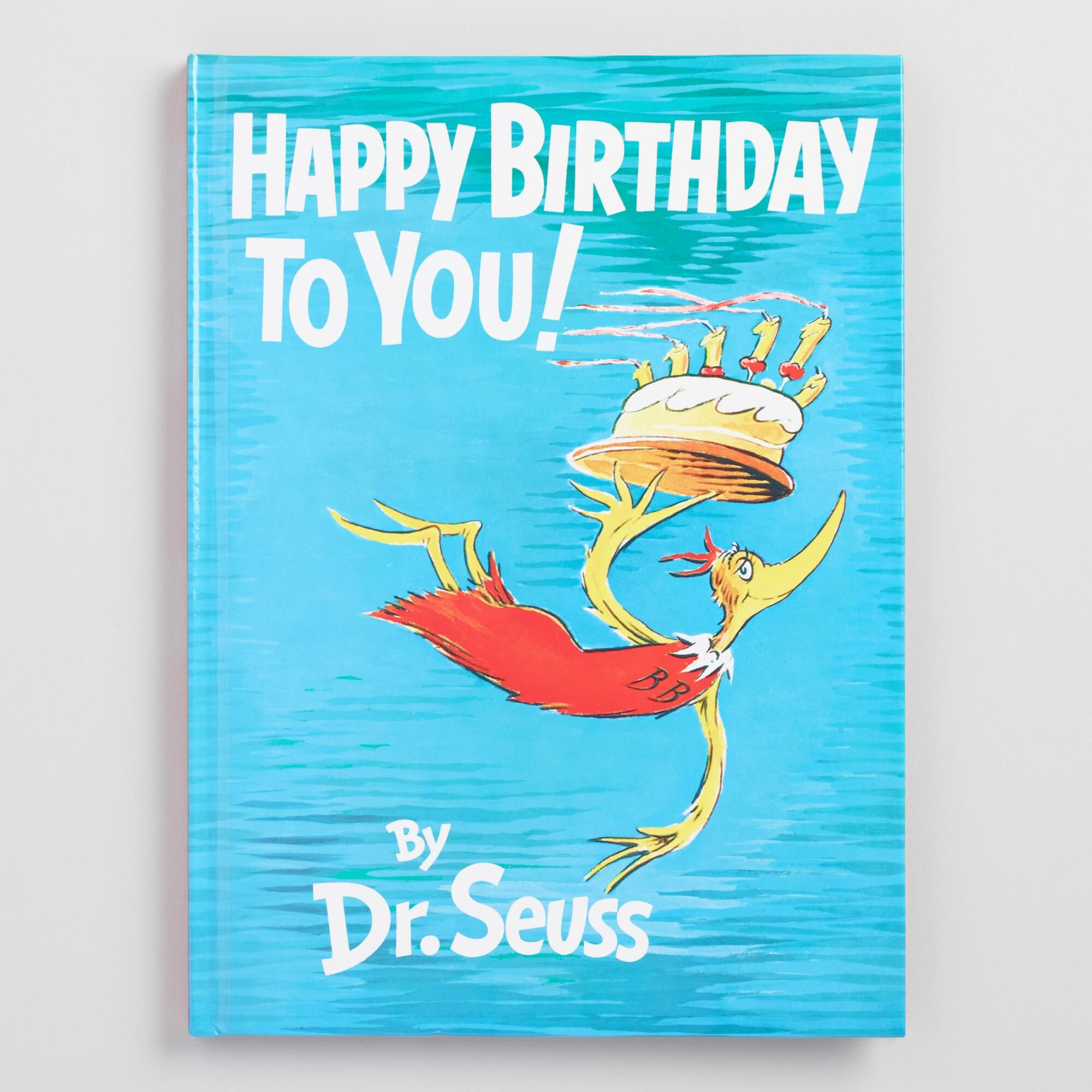 Dr Seuss Happy Birthday To You Book