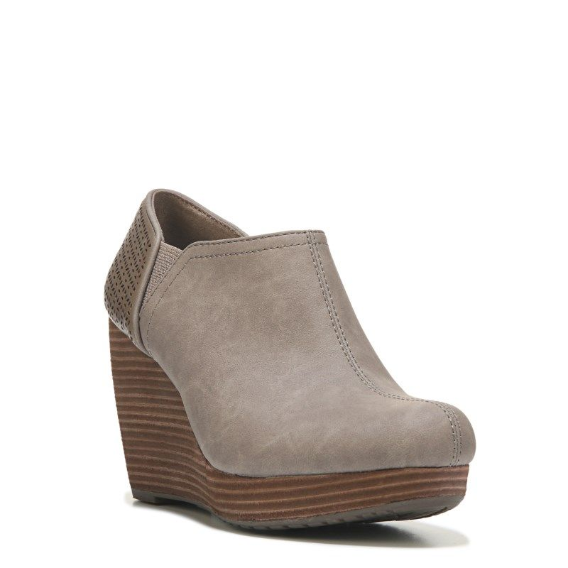 09f01dfd97be Dr. Scholl s Women s Harlow Wedge Booties (Taupe) - 10.0 M