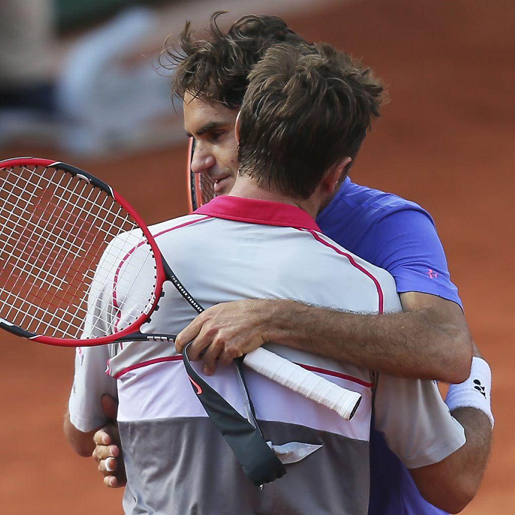 Épinglé par Roger Federer sur Wawrinka & Federer