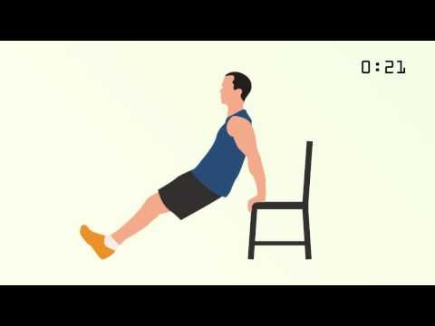 7-Minute Workout (Full Body HIIT)