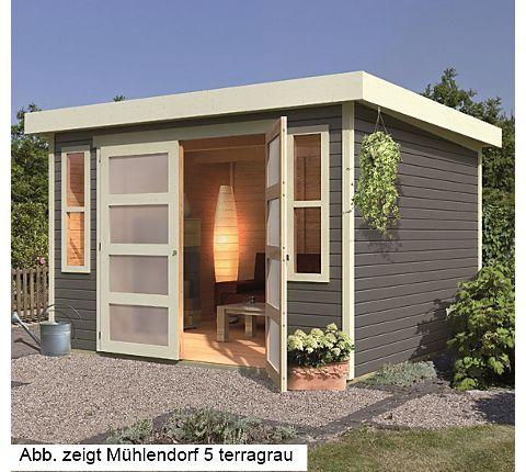 Karibu Gartenhaus Mühlendorf 3, Naturbelassen | Gartenxxl.de ... Blockbohlenhaus Im Garten Funktional Ausenbereich