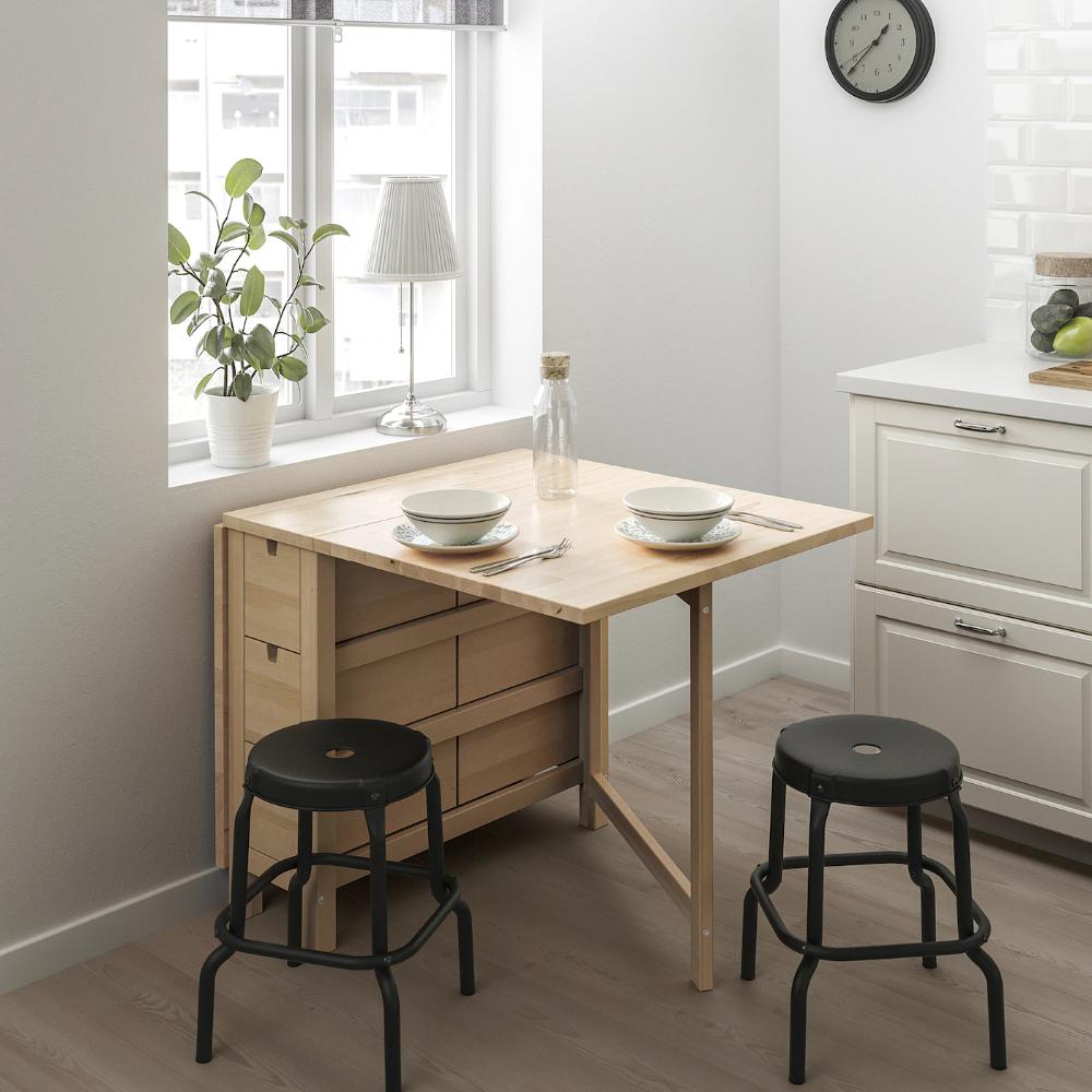 NORDEN Gateleg table, birch IKEA in 2020 Norden