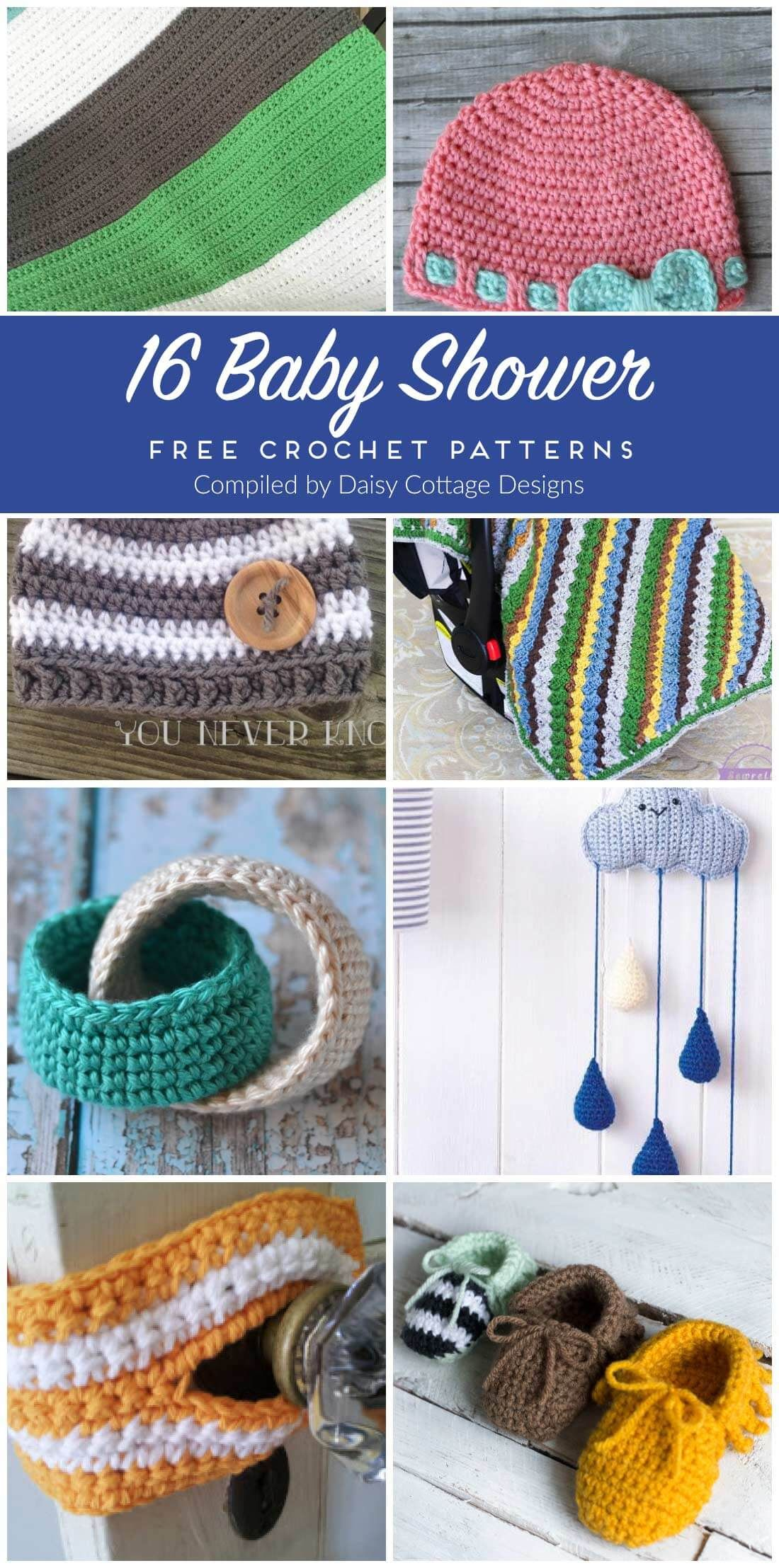 Free Crochet Patterns for Baby | Crochet patterns baby, Free crochet ...