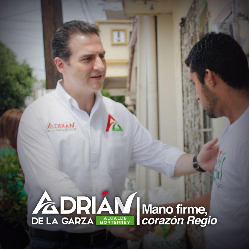Mi deber como alcalde será servir a los regiomontanos, no importa si aquí nacieron o si nuestra ciudad los adoptó #ManoFirme y #CorazónRegio Adrián de la Garza