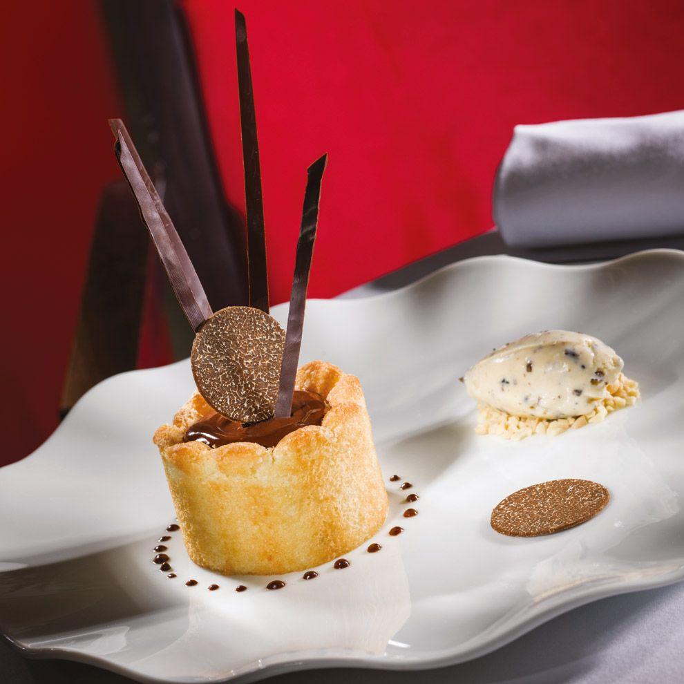 A gastronomie recettes desserts charlotte poire for Glace decoration