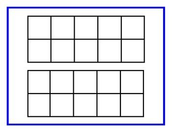 Free Ten Frame This Double Ten Frame Can Help Students To Create Numbers To 20 I Hope Your Kiddos Have Fun Using Thi Ten Frame Ten Frames Free Math Classroom