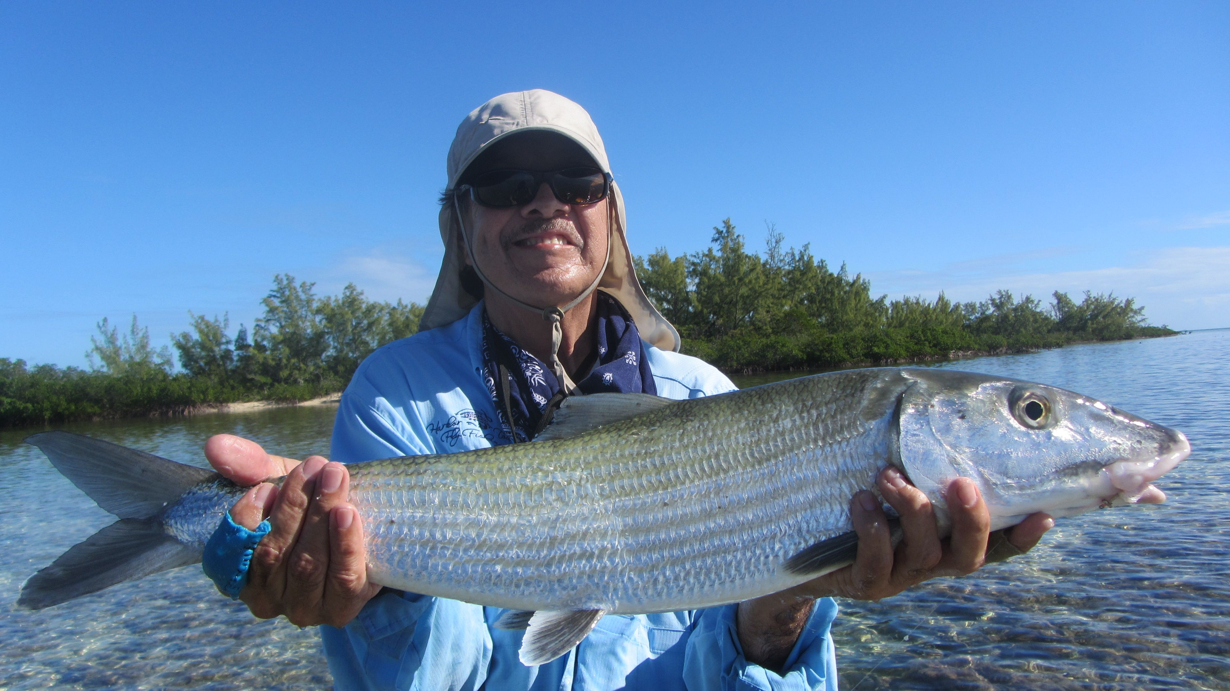 10lb Bonefish In Andros Island Bahamas Fly Fishing Water Adventure Fish
