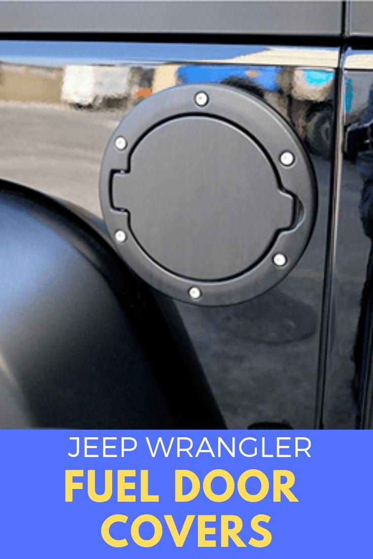 Jeep Fuel Door Covers Cool Jeeps Wrangler Accessories Jeep