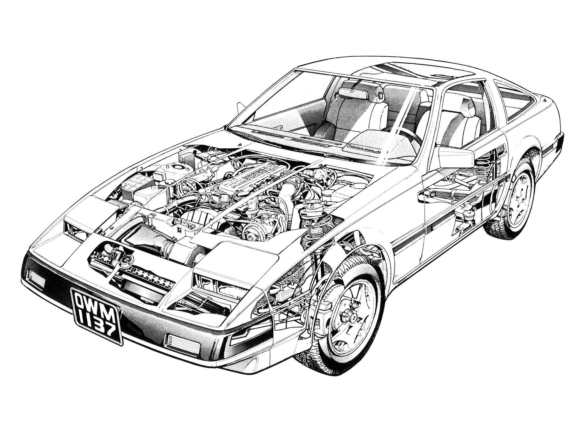 General information photos engines and tech specs for nissan 300 zx specs 1989