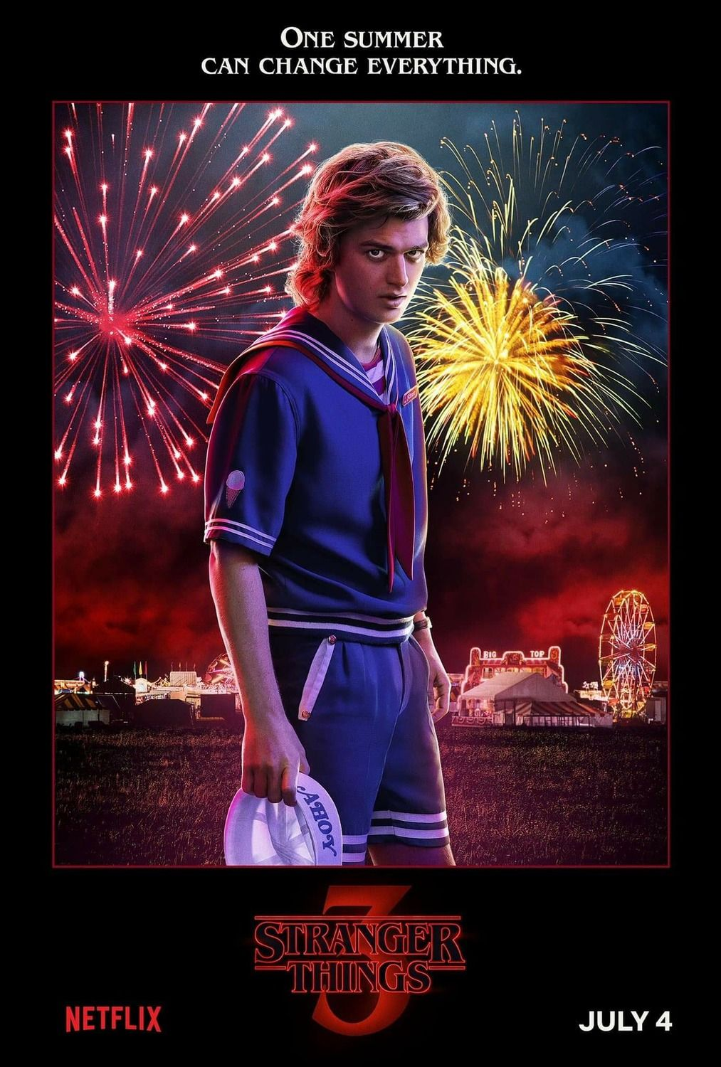 Stranger Things Staffel 3 - Poster #seriesonnetflix