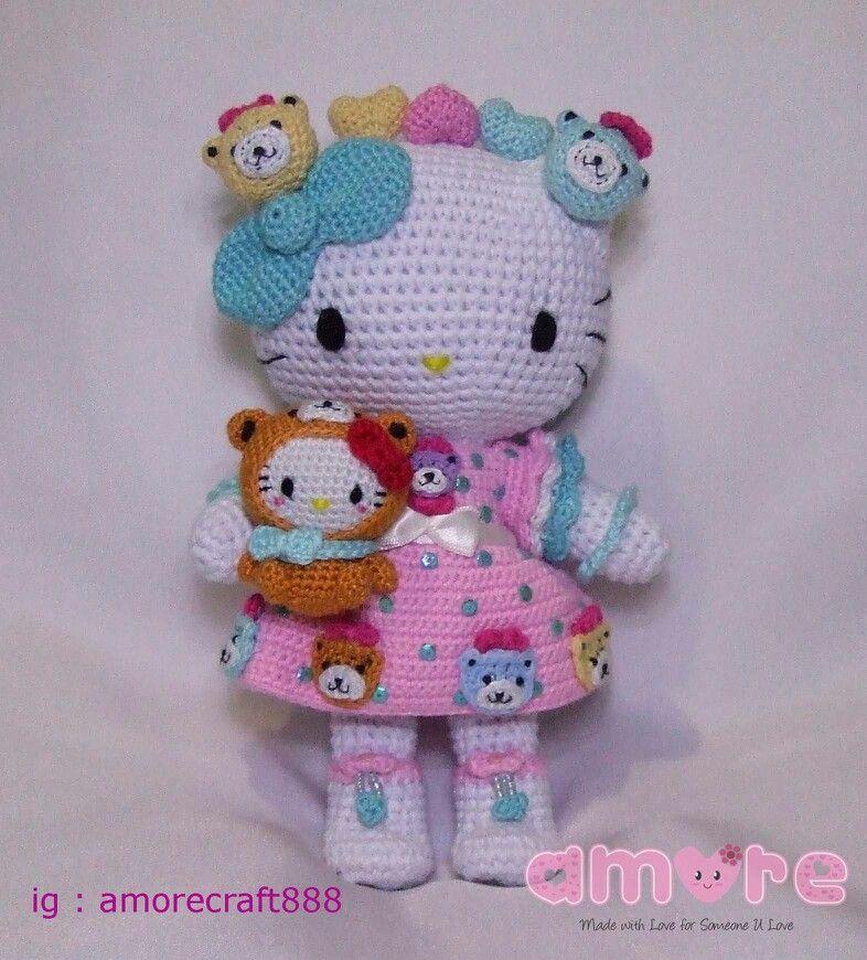 Llaveros Hello Kitty - Hamylu tejidos a crochet | Facebook | 870x786