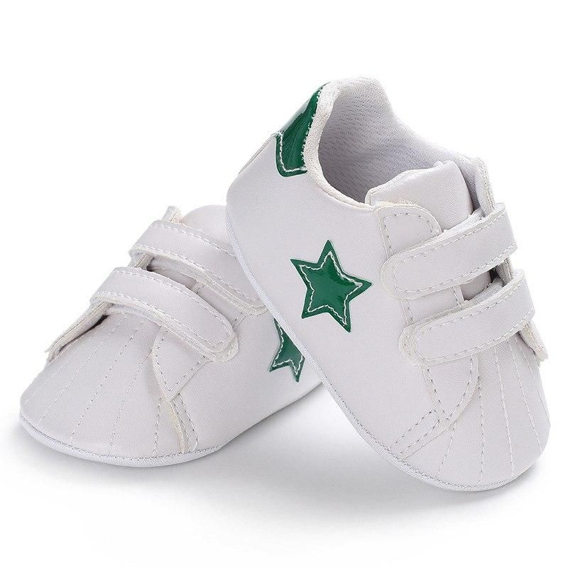Raise Young PU Leather Baby Sneakers Five-pointed Star Soft Soles Newborn  Baby Boy Shoes 9985cf87d8