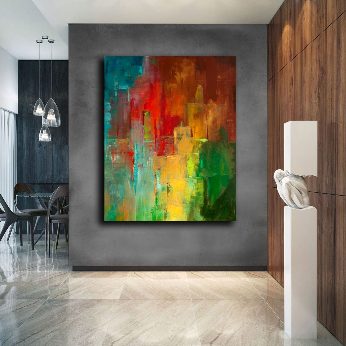 Contemporary Art Original Painting Abstract Colourful Abstract Wall Art Large Painting Canv Colorful Abstract Painting Abstract Painting Abstract Art Painting