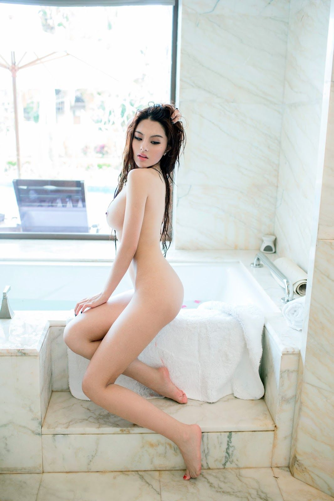 model Angel nude chinese