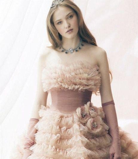 Glamour Jill Stuart Wedding Dress