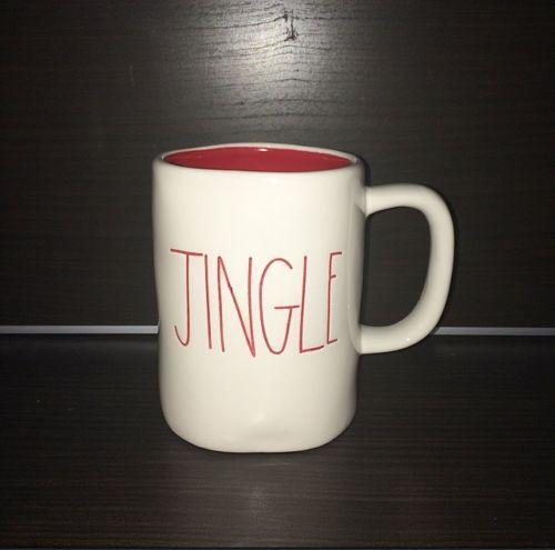 Rae Dunn Magenta Jingle Cup Mug Rae Dunn Christmas Mugs