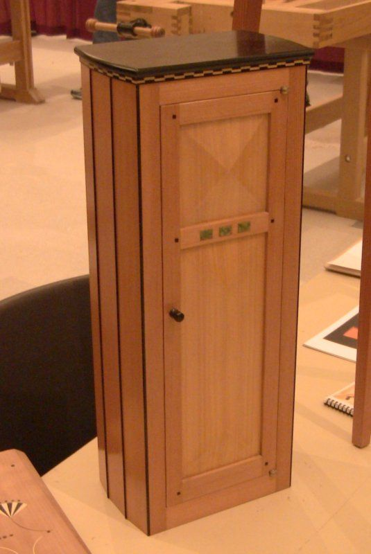 Garrett Hack; small coopered(?) cabinet Furniture Ideas