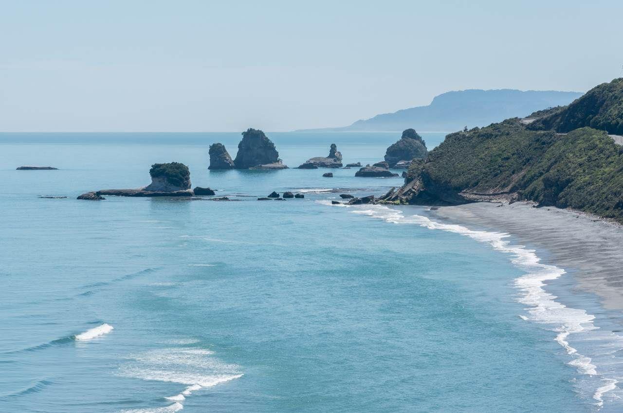 Rapahoe Beach Greymouth New Zealand New Zealand Holidays