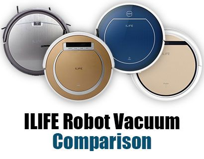 We compare the 5 latest Chewi ILIFE robot vacuums - the A4, X5, V5