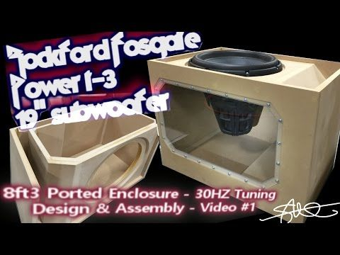 Massive subwoofer massive ported box build rockford fosgate massive subwoofer massive ported box build rockford fosgate power t3 19 plexi sciox Gallery