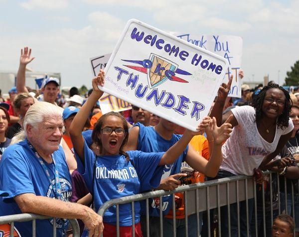 Welcome Home Thunder Oklahoma City Thunder Oklahoma City Thunder Thunder Thunder Oklahoma