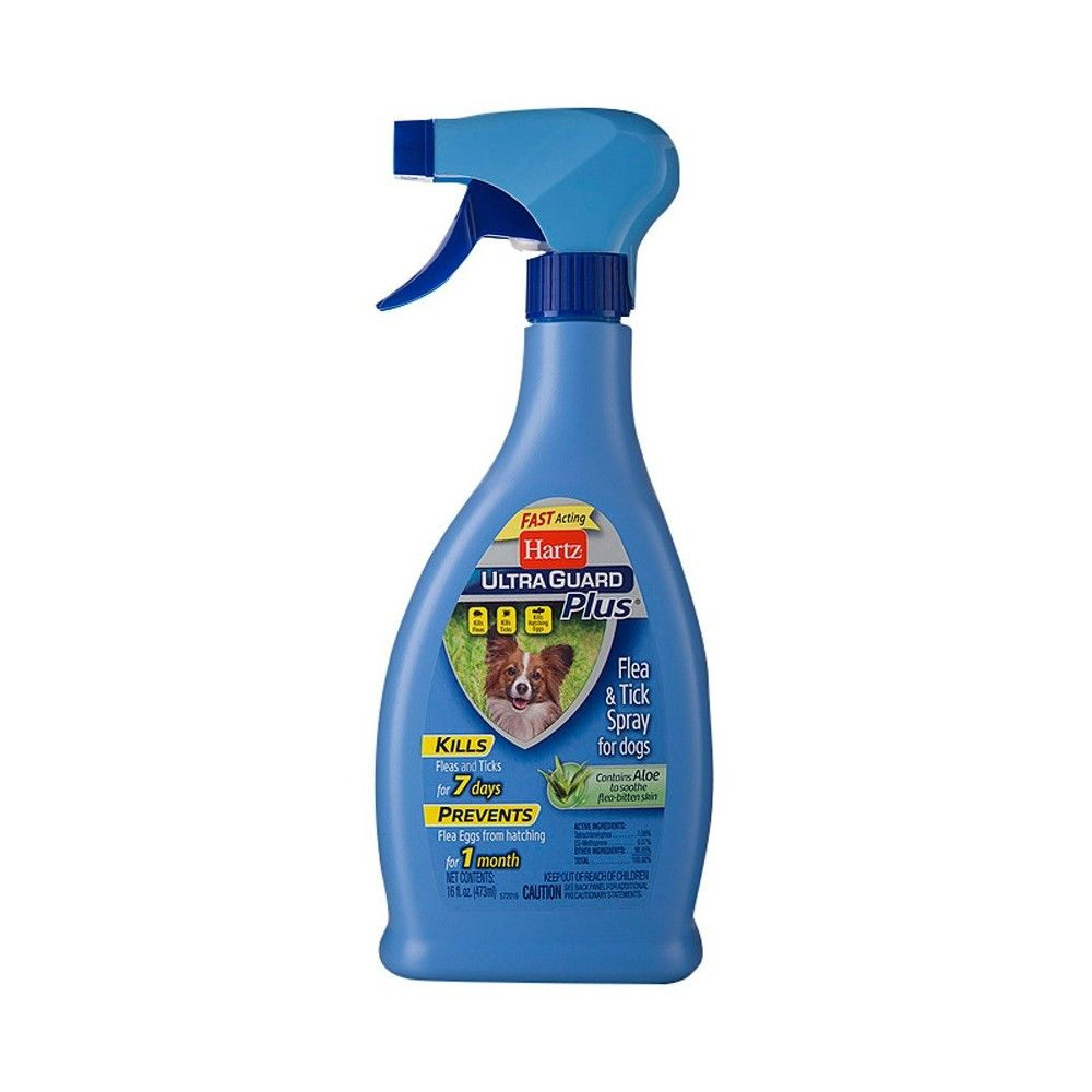 Hartz UltraGuard Plus Flea and Tick Spray for Dogs 16oz