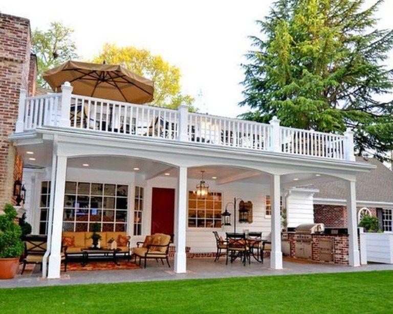 Incredible backyard patio design and decor ideas also deck rh pinterest