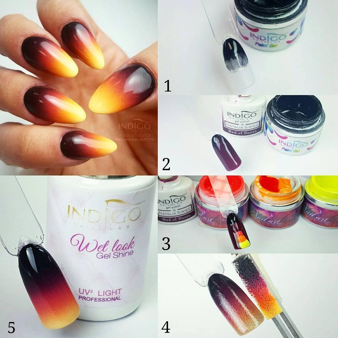 Ombre nails | paznokcie | Pinterest | Nagelschere, Nageldesign und ...