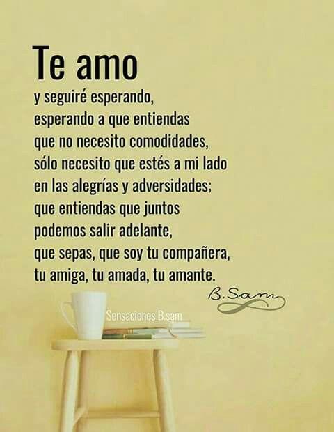 Pin De Leticia Montoya En Amor Love Quotes Love Y Love My Husband