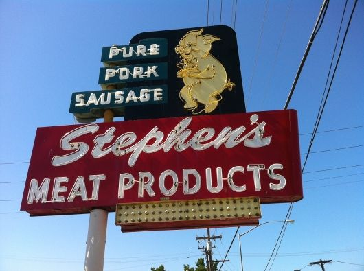 San Jose S Fine Meat Shop Meat Shop Bbq Signs Pork