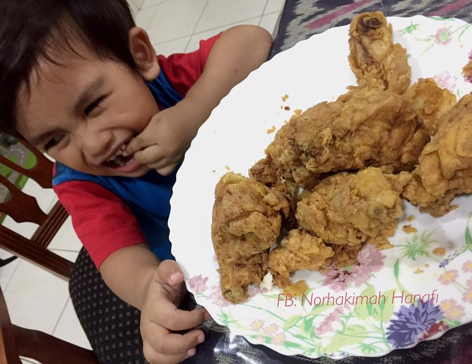 Resipi Ayam Goreng Homemade Ala Kfc Sesuai Untuk Anak Yang Tak Makan Pedas Kfc Pedas Food