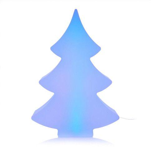 beleuchteter Tannenbaum Modern Vorderansicht