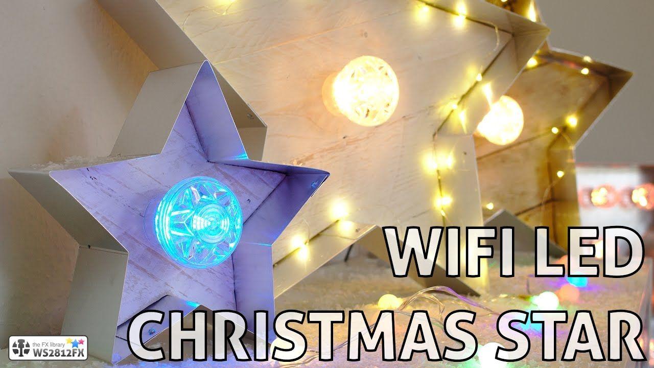 WIFI LED Christmas Star (ESP8266, WS2812, Arduino) | Jercio LED