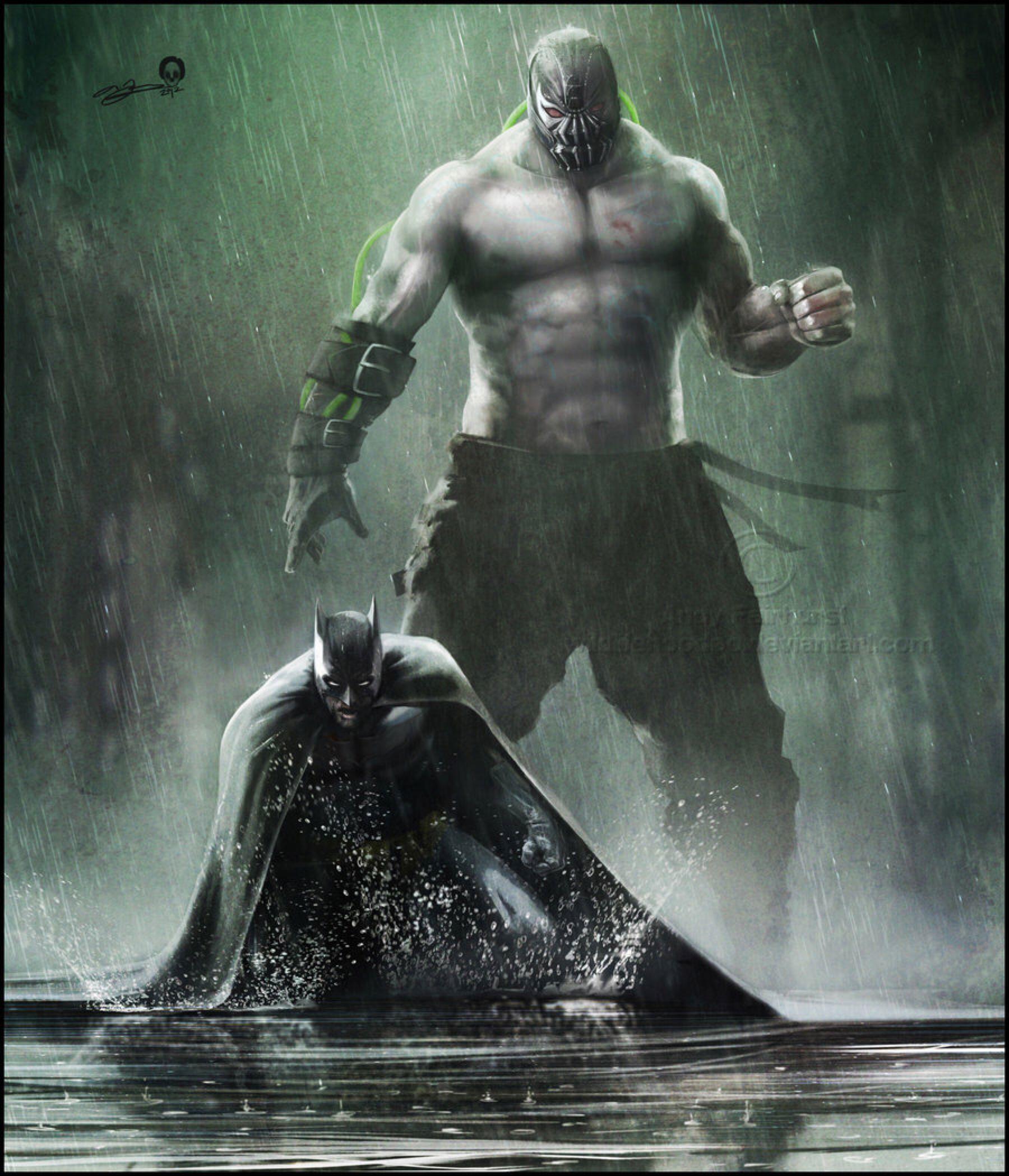 Batman - Bane By AndyFairhurst On @DeviantArt